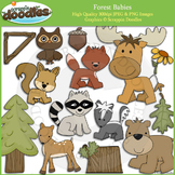 Forest Babies Clip Art
