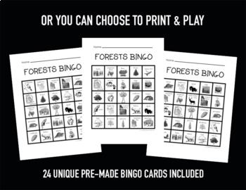 Forest Bingo