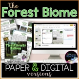 Forest Biome Differentiated Reading Comprehension Passages
