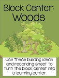 Forest Block Center- Preschool Learning Centers (Woods and Camping)