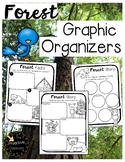 Forest / Camping Character Traits Graphic Organizer & Story Retell
