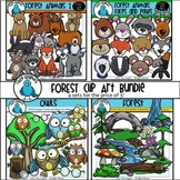 Forest Clip Art Bundle - Chirp Graphics
