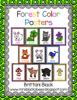 Forest Color Posters