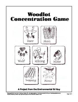 Woodlot Concentration Game