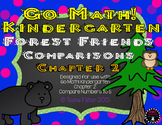 Kindergarten Go Math! Chapter 2 Comparing 0-5 Forest Critter Comparisons