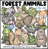 Forest Animals Clip Art Whimsy Workshop Teaching