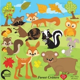 Animal Clipart, Forest Clipart, Deer Clip Art, AMB-371
