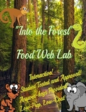 Forest Food Web Simulation Lab
