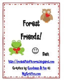 Forest Friends:  A Balanced Literacy Unit for First Grade