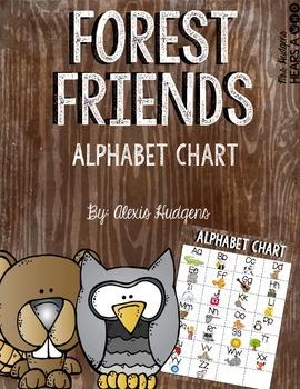Forest Friends Alphabet Chart
