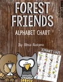Forest Friends Alphabet Chart