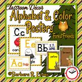 FOREST ANIMALS: Forest / Woodland Animal Alphabet & Color