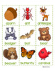 ALPHABETICAL ORDER LITERACY CENTER Forest Theme Differentiated