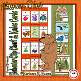FOREST ANIMALS: Behavior Clip Chart, Brag Tags, Forest / Camping, Decor
