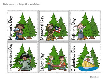 CALENDAR MATH Interactive Activities Forest Camping Classroom Decor Math Center