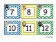 Forest Friends Calendar Number Cards