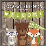 Forest Friends Classroom Decor Bundle