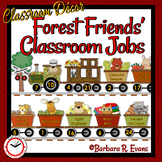 CLASSROOM JOBS Classroom Management Forest Animal Theme Cl