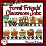 CLASSROOM JOBS Classroom Management Forest Animal Theme Classroom Decor Editable