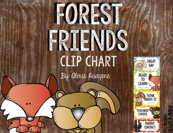 Forest Friends Clip Chart