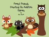 Forest Friends Common Core Math Counting On Addition Games
