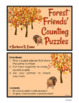 MATH CENTER Forest Theme Counting Puzzles Subitizing Number Sense