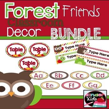 Forest Friends Decor Bundle