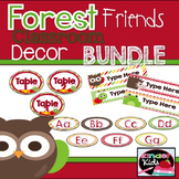 Forest Friends Decor Bundle