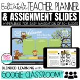 Forest Friends: Digital Teacher Planner for Blended & Dist