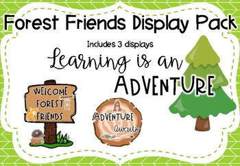 Forest Friends Display Pack