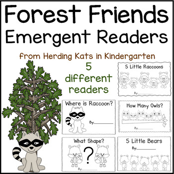 Woodland Animals Emergent Readers