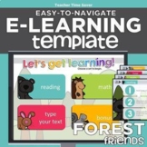 Forest Friends Easy-to-Navigate Distance Learning FULL eLe