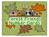 Forest Friends FREEBIE!  Number Cards (1-120) + Center Activity