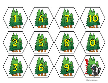 NUMBER SENSE: Addition within 10, Math Center, Game, Arithmetic, Number Sense