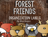 Forest Friends Labels