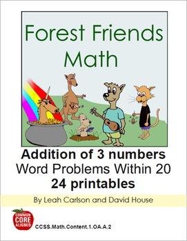 Forest Friends Math