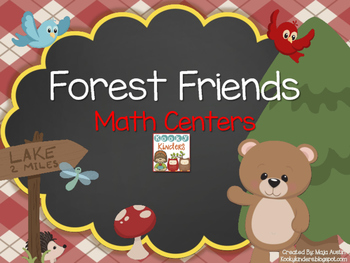 Forest Friends Math Centers