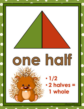 FOREST ANIMALS: Math Concepts, Posters, Woodland / Camping Theme, Decor