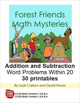 Forest Friends Math Mysteries