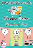Forest Friends Number Posters 1-20