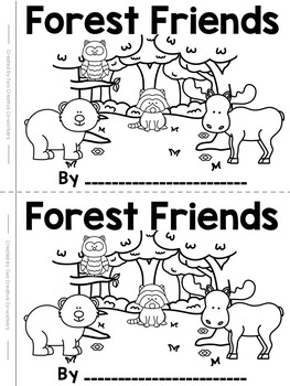 """High Frequency Word """"the"""": Read and Write Book {Forest Themed} FREEBIE!"""