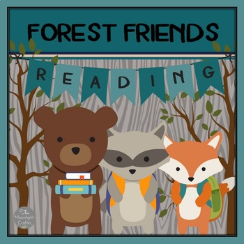 Forest Friends Reading Posters