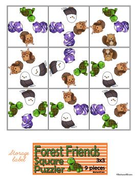 FOREST ANIMALS: Forest Animal Activities, Woodland Animals Activities