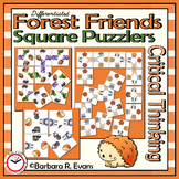 CRITICAL THINKING PUZZLES Forest Animals Brain Teasers Differentiation GATE
