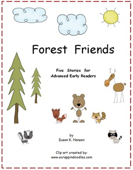 First Grade: Reading Comprehension Forest Animals
