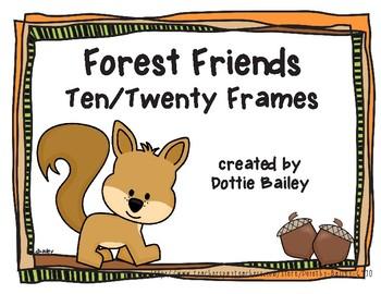 Forest Friends Ten/Twenty Frames