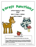 Forest Functions - Common Core Math - Story Problems / Making Numbers