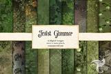 Forest Glimmer Digital Paper