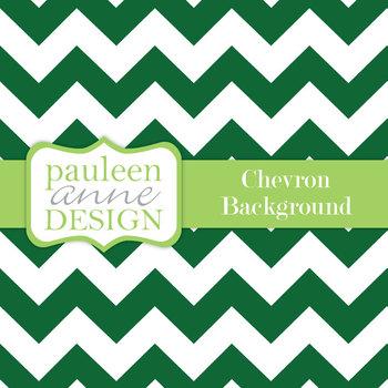 Forest Green Chevron Background