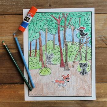 Forest Habitat Create-a-Scene
